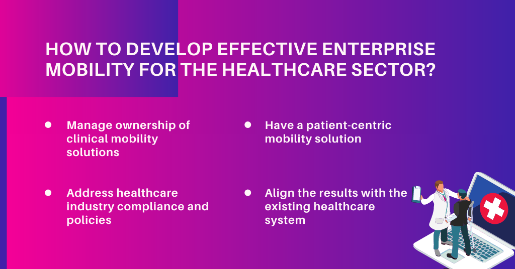 How to Develop Effective Enterprise Mobility For the Healthcare sector?